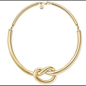 Michael Kors Knot gold necklace